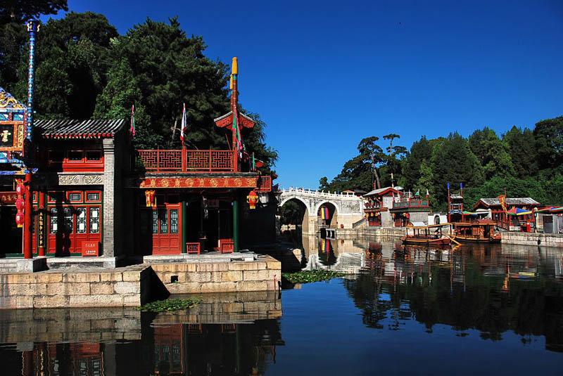 Летний Императорский Дворец в Пекине