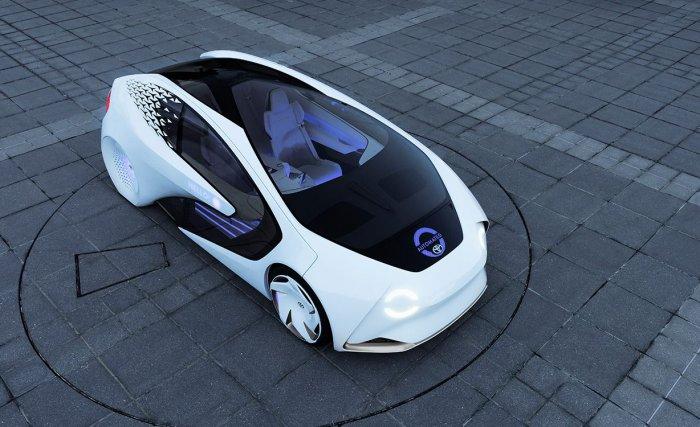 Автомобиль с искусственным интеллектом - Toyota Concept-i