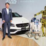 Mercedes в годовщину «Звездных войн» предложит выбрать автомобилистам свою сторону