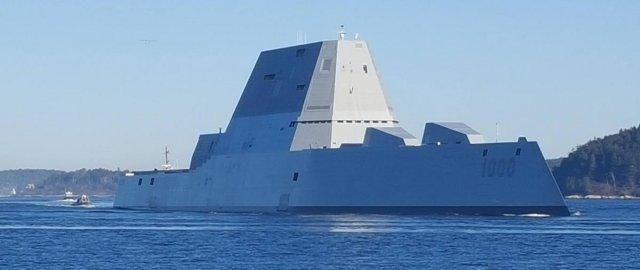 Супер эсминец ВМС США Zumwalt