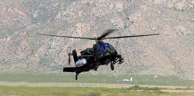 Американские военные использовали лазерное оружие с вертолета