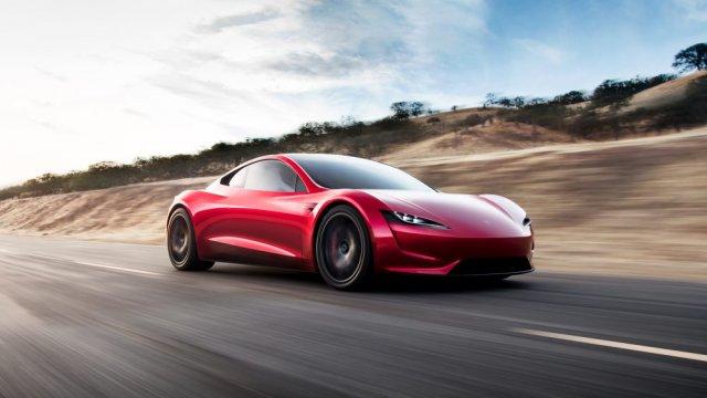 Самый быстрый в мире серийный электромобиль от Tesla