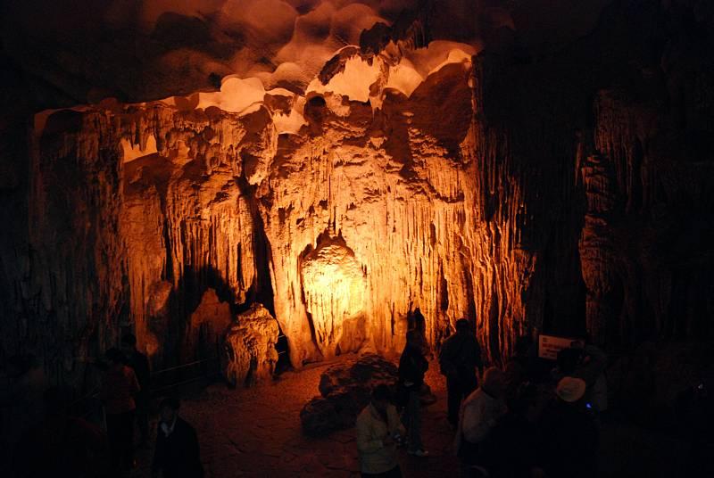 Пещера Деревянных колов — Дауго