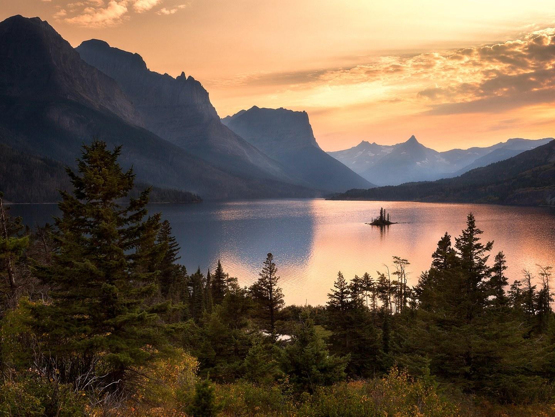 Национальный парк Glacier, Монтана, США