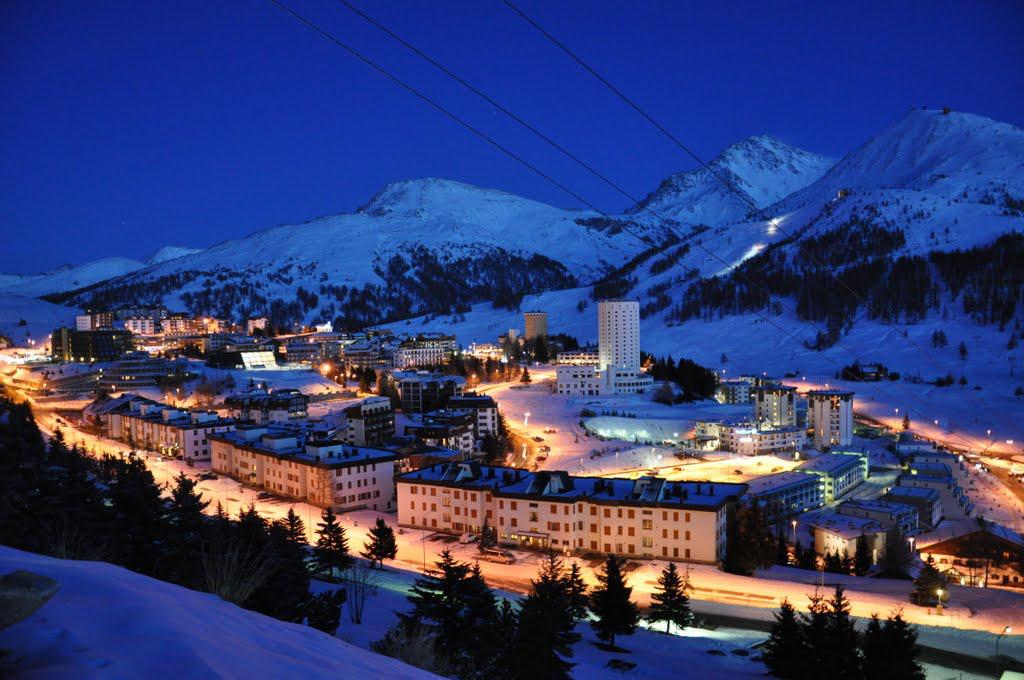Лучший горнолыжный курорт Италии - Сестриере