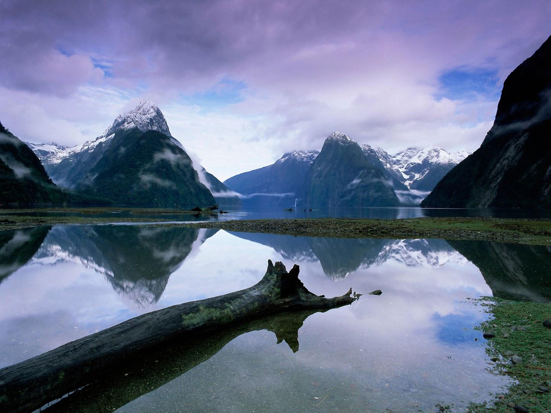 Милфорд-Саунд, Национальный парк Фьордленд, Новая Зеландия